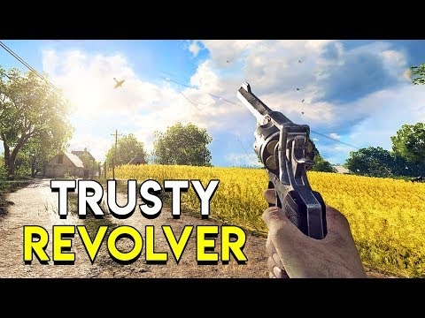 Trusty Revolver! - Battlefield V + Giveaway thumbnail