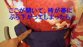 卒業袴の立ち居振る舞い♪ thumbnail