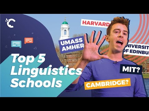 Top 5 Linguistics Schools In The World