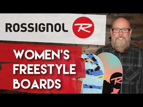 2018 Rossignol Women's Freestyle Snowboards - Overview - TheHouse.com