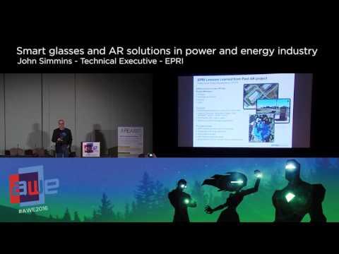 John Simmins (EPRI) Smartglasses and AR Solutions in Power and Energy Industry