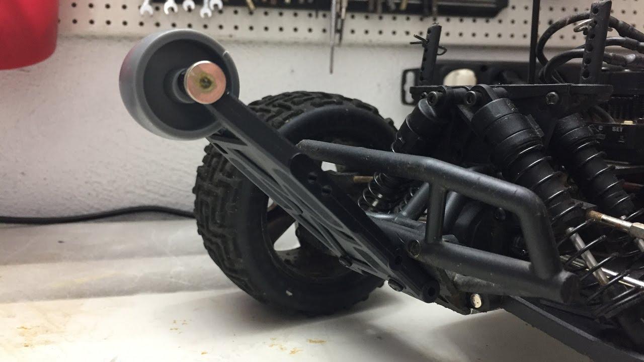 Wheeliebar Für Hpi Bullet Mt Flux Selber Bauen Homemade