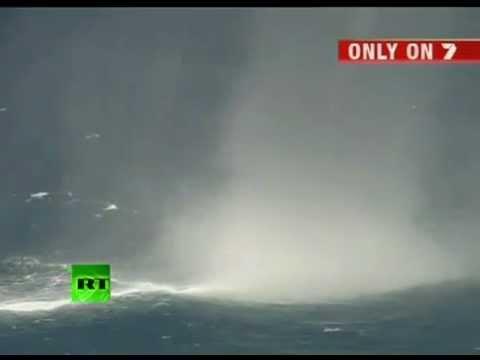 Waterspout (Tornado over Ocean) - YouTube