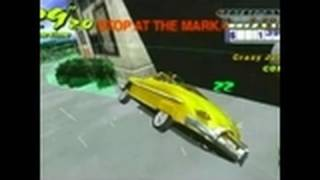 Crazy Taxi: Fare Wars Sony PSP Gameplay - Stereophonic