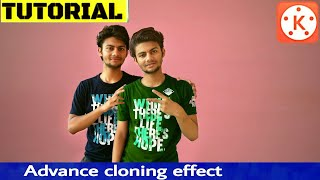 Advanced human cloning effects in kinemaster Tutorials- video editing classes with KineMaster