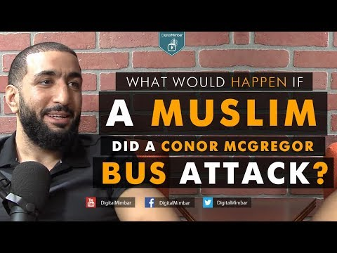 What would happen if a Muslim did a Conor Mcgregor bus Attack?