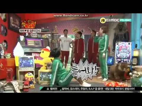 Byul And HAHA Dance Together .