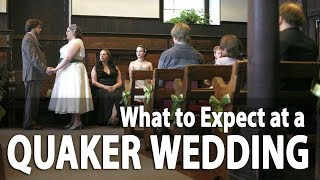 What to Expect at a Quaker Wedding