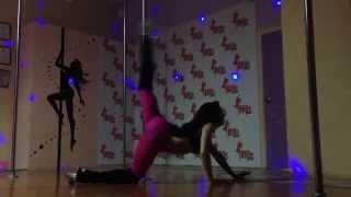 Anna Mashkova - exotic pole dance