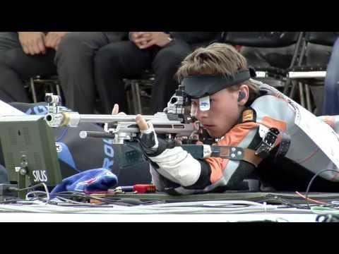 European Championship Juniors 25/50m Rifle and Pistol, Tallinn, Estonia - 50m Rifle Prone Men Junior