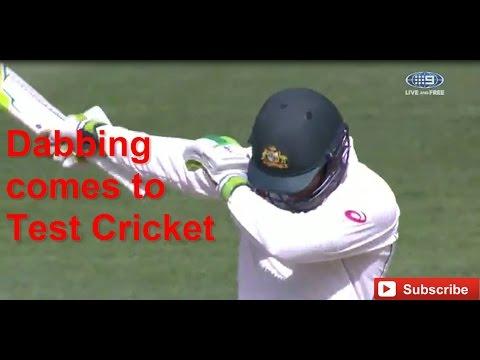 Usman Khawaja Brings the Dab to Cricket Australia vs Pakistan Third Test