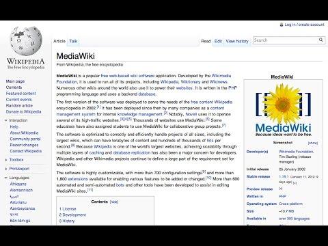 MediaWiki - Windows Server 2012 R2 Standard