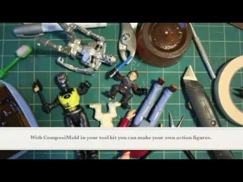 Make Your Own Action Figure with ComposiMold