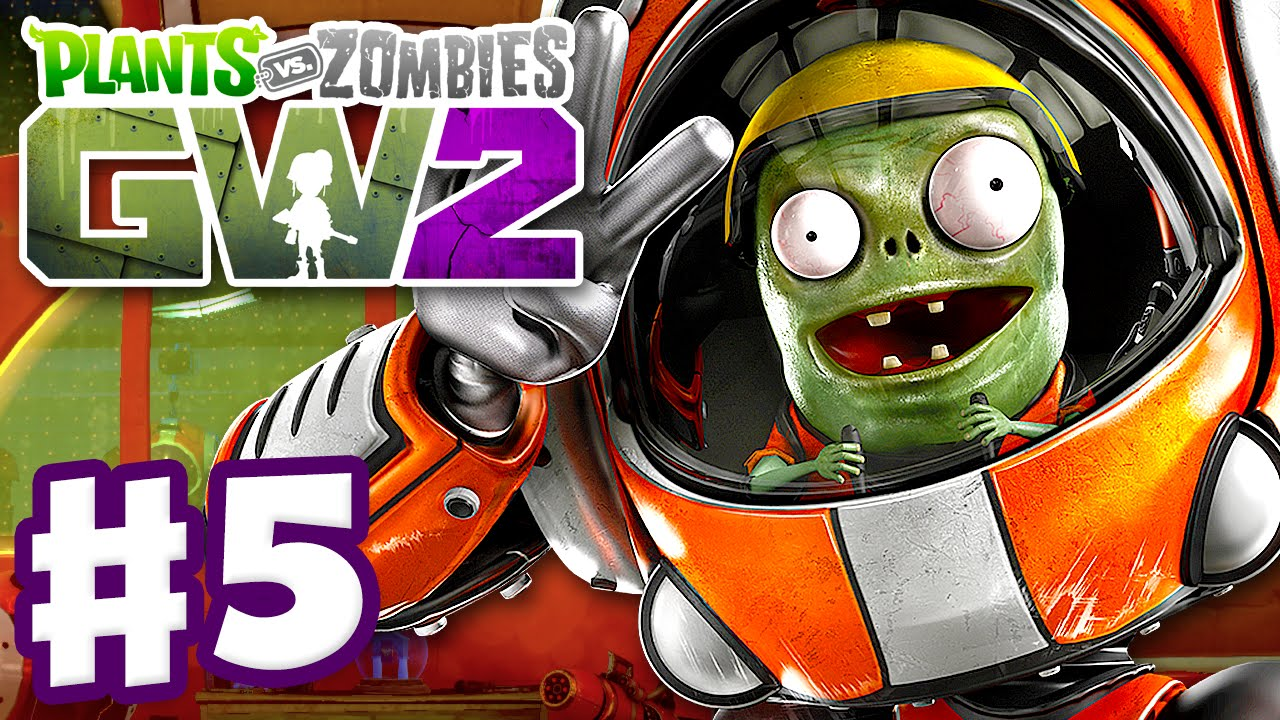 Plants Vs Zombies Garden Warfare 2 Gameplay Part 5 Imp And Z Mech Quests Crazy Targets