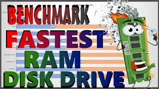 RAM DRIVE DISK SPEED BENCHMARK COMPARE REVIEW