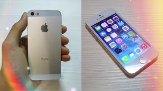 Тест - обзор ! Китайский IPhone 5S (ЗА 85 $) Копия Apple ! ! !(Мой Первый телефон из Китая ! ! ! Хорошая и одна из самых дешевых Копий ➔ iPhone 5S (ЗА 85 $ - 32GB) ! ! ! Не судите строго..., 2014-12-03T05:42:29.000Z)