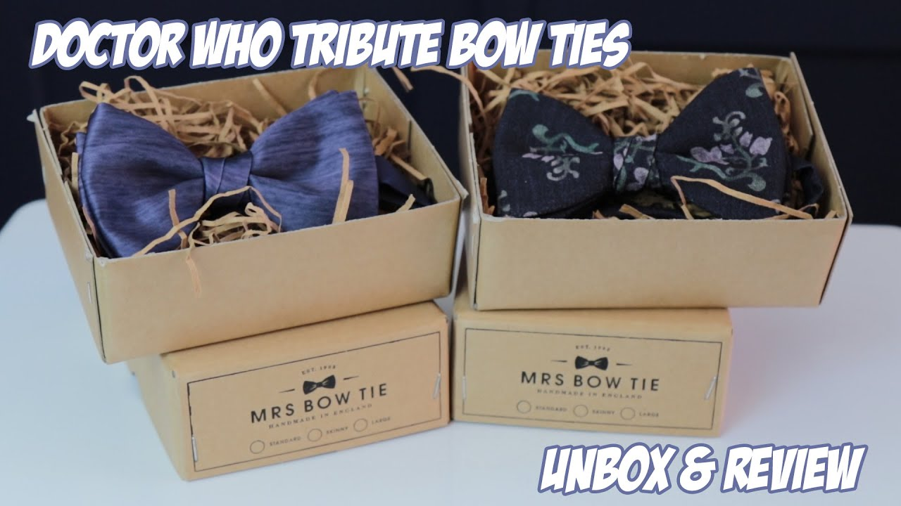 Doctor Who Tribute Bow Ties Review With Mini Matt Smith Cosplay