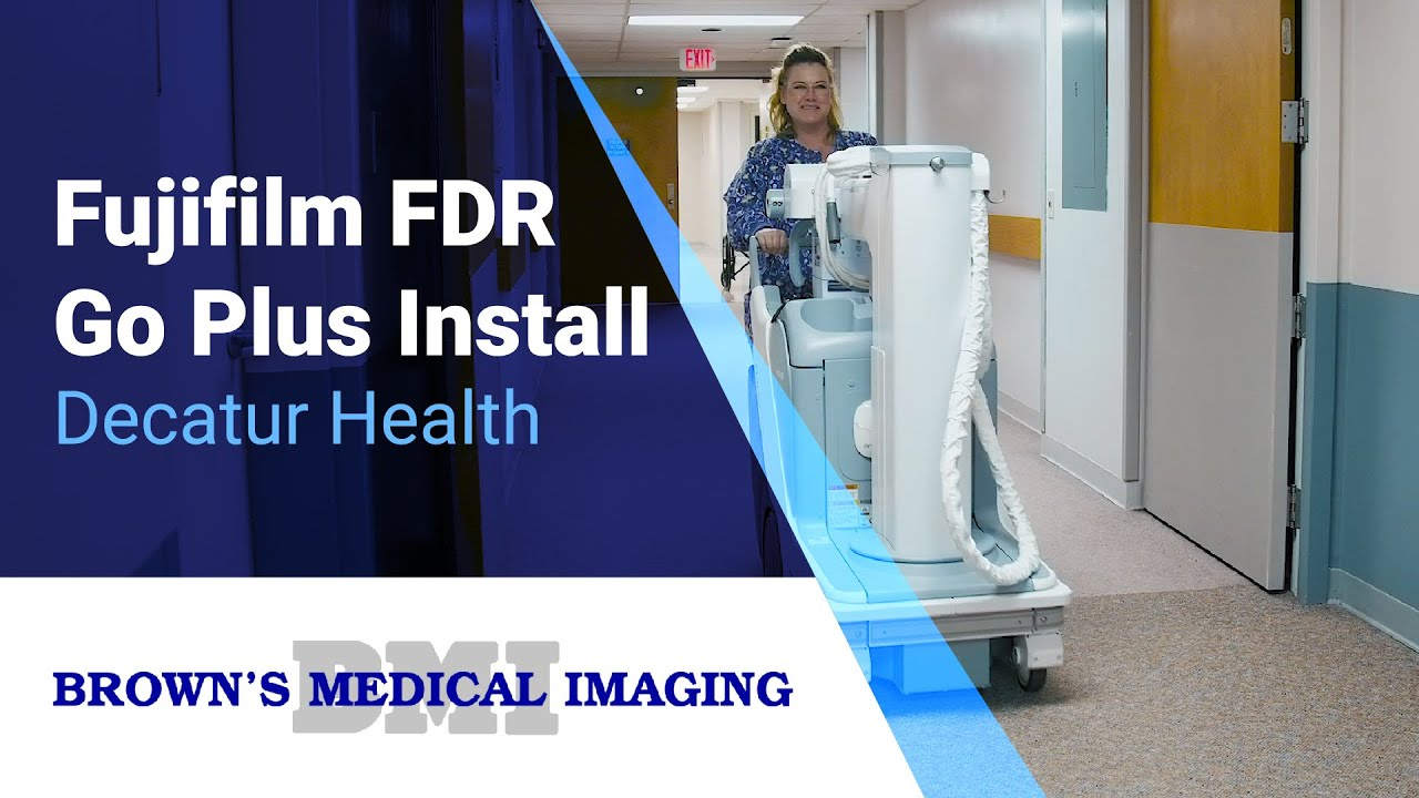 How a Fujifilm FDR Go Plus is Helping Patients at Decatur Health