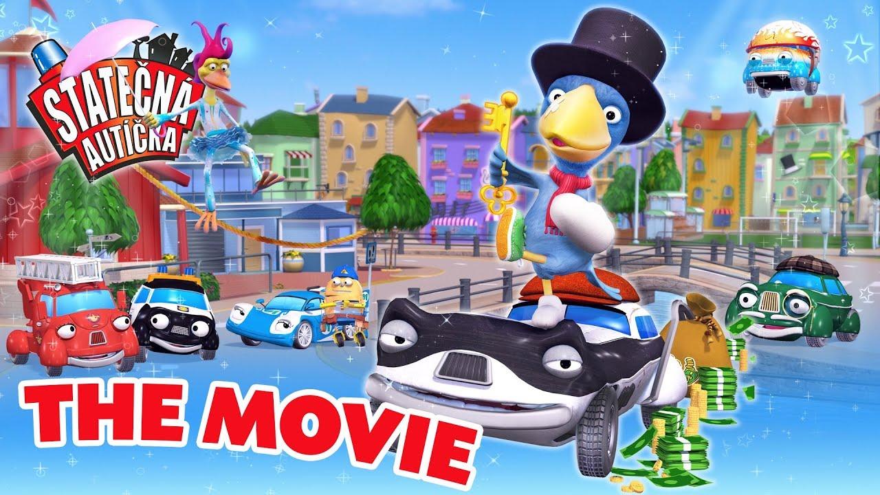 Statečná autíčka - The Movie | Kreslené pro Děti | Animované pro Děti