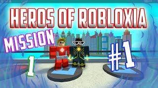WE ARE HEROS!!!   Roblox Heros Of Robloxia #1 W/ BrendonplaysMC
