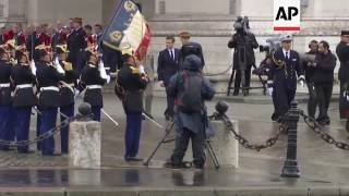 France Honors New President, Emmanuel Macron
