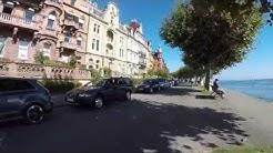 STREET VIEW: Die Seestrasse in Konstanz am Bodensee in GERMANY