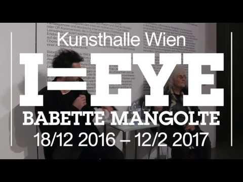 Talk: Babette Mangolte