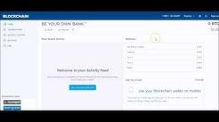 BlockChain.info Wallet: Create Multiple Wallet Addresses