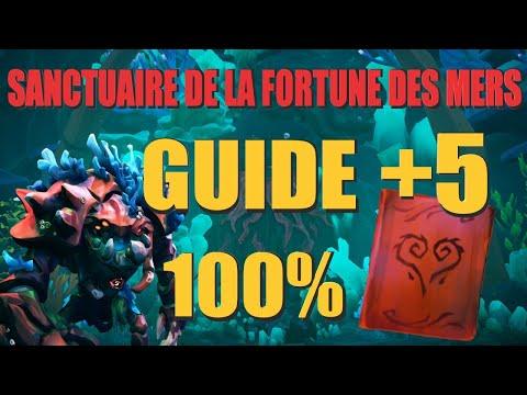 SoT - Santuaire De La Fortune Des Mers GUIDE 100%