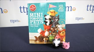 Mini Pom Pom Pets From Klutz