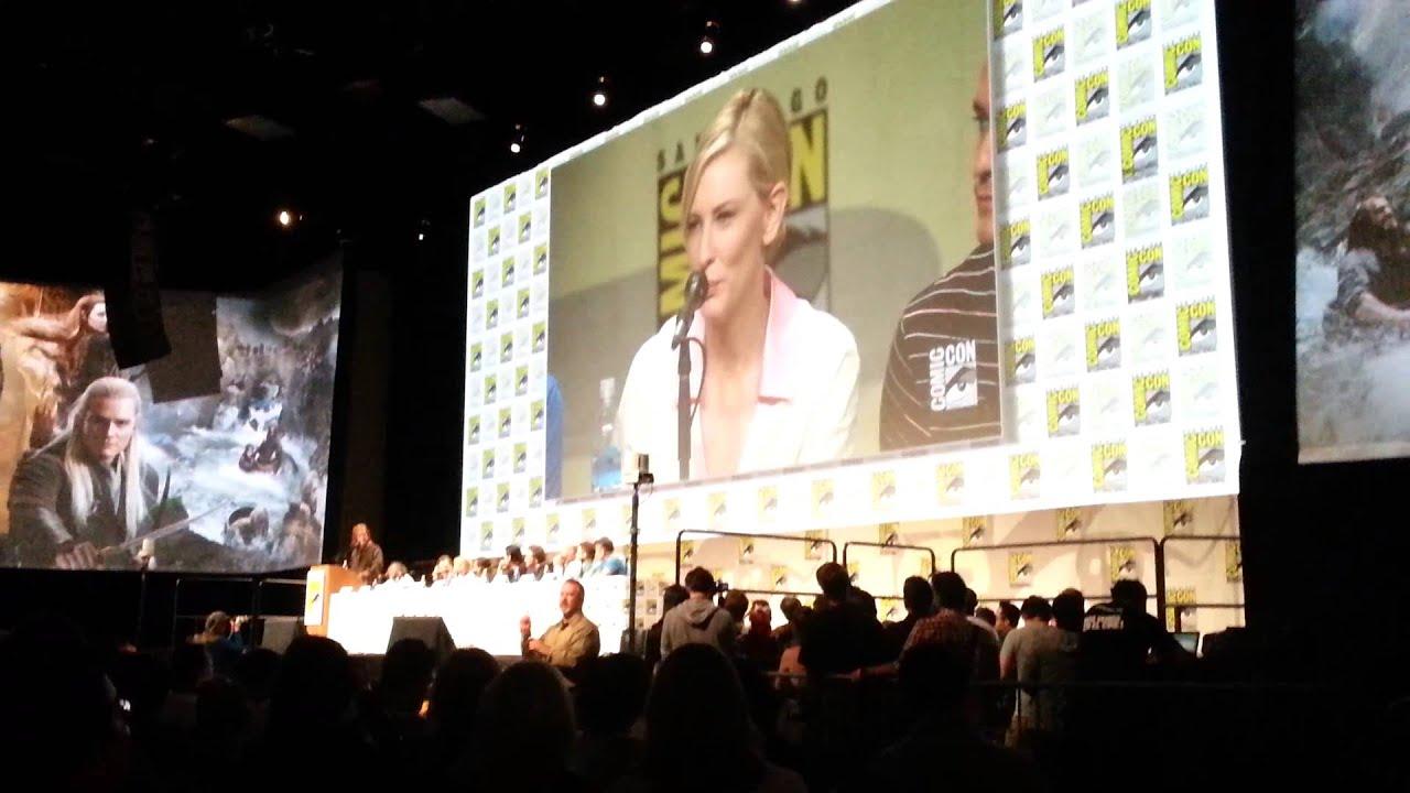 Download The Hobbit Panel Andy Serkis/Gollum/Smeagol SDCC 2014