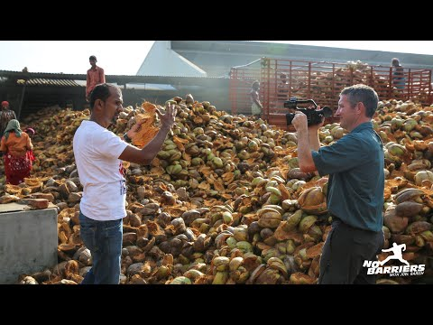 Recycling Coconut Husks