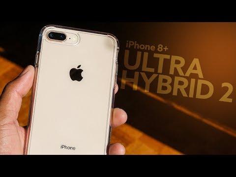 f5c0af006fc iPhone 8 Plus Spigen Ultra Hybrid 2 Case Review! - YouTube