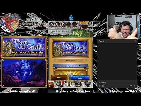 Directo !!!!! Final Fantasy Record Keeper: Torre de Cristal - Reinado de tirania