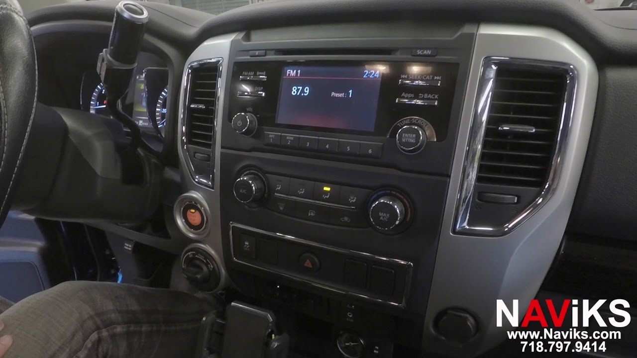 2017 Nissan Titan Naviks Rear Camera Interface
