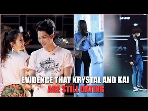 Kai Krystal Witness accounts dating rumors of other EXO members more
