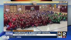 Good morning from Churchville Elementary School in Harford County