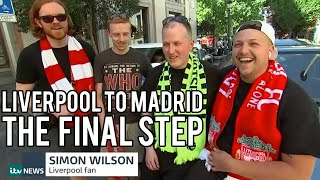 £40 CAR FROM LIVERPOOL TO MADRID - CHAMPIONS LEAGUE FINAL - DAY 3