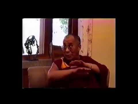 Visit post Tibet Daramshala HH Dalai Lama with Dr C Warter
