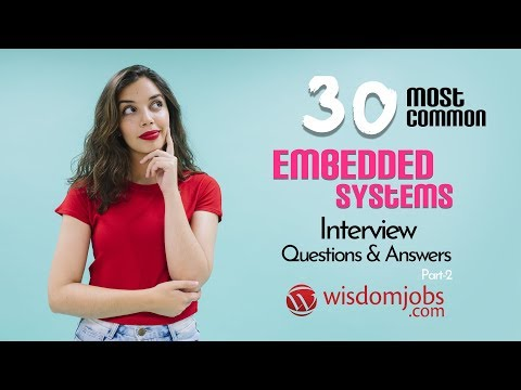 TOP 15 Embedded Systems Interview Questions And Answers 2019 Part-2 | Embedded Systems