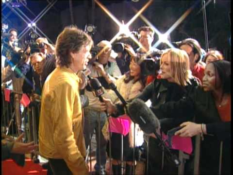 Mick Jagger & Naomi Campbell on the Red Carpet!!