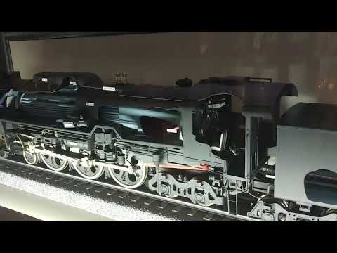 Model train in Kyoto