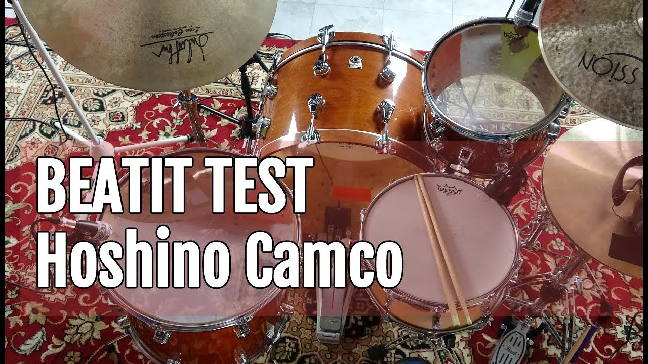 Vintage Test Beatit Camco Hoshino Heritage Drum Kit Youtube