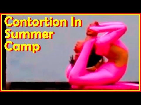 Very Talented  Contortion Dolls  Demonstrate  Awesome  Stretching  And  Backbends