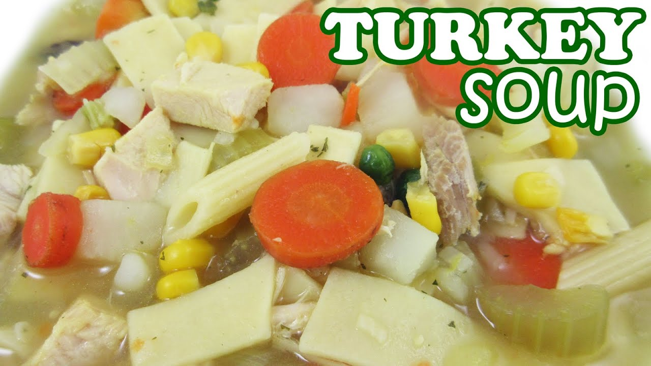 Thanksgiving day leftover turkey soup recipe from leftovers thanksgiving day leftover turkey soup recipe from leftovers vegetable noodle hot soups recipes youtube forumfinder Choice Image