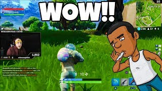 LosPollosTv Hilarious Random Duo With High Fortnite Player (Gone Wrong)