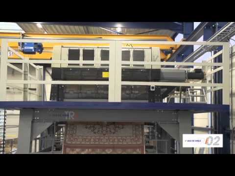 TRi02 VANDEWIELE Tapestery weaving machine