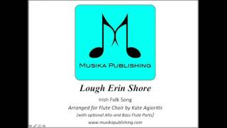 Lough Erin Shore for Flute Choir