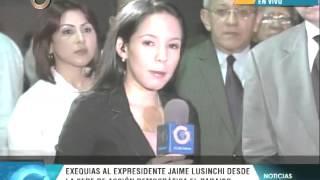 Personalidades lamentan fallecimiento de Jaime Lusinchi