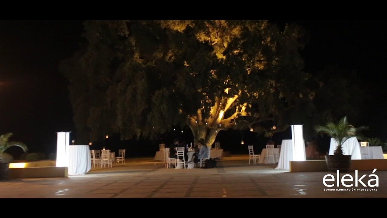 Iluminacion decorativa bodas exterior youtube - Iluminacion decorativa exterior ...